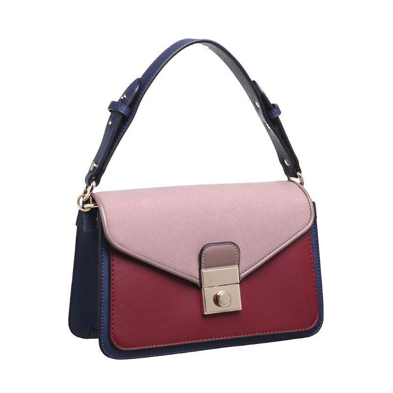 Bolso maletín combinado